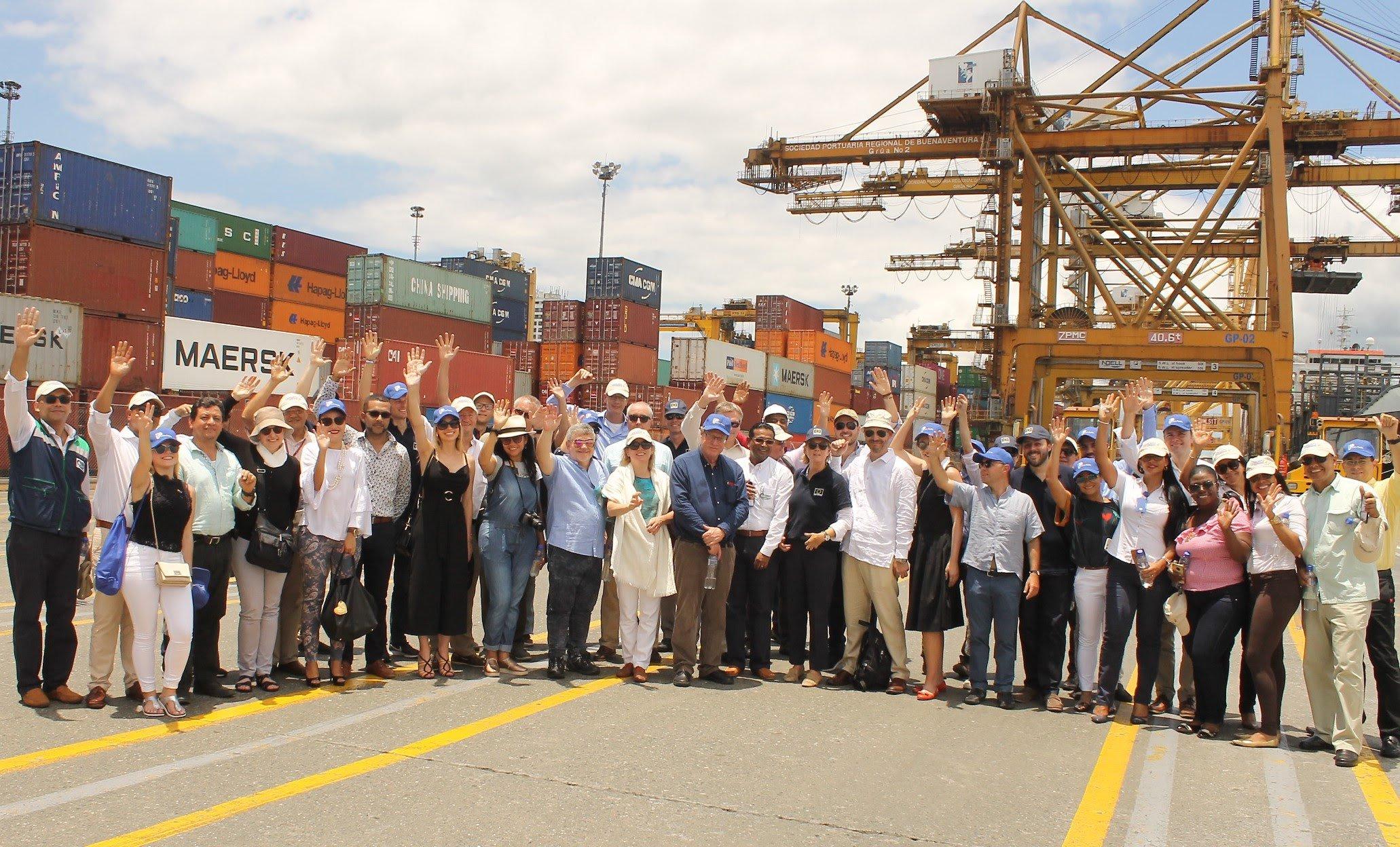 Buenaventura recibió visita de embajadores y representantes de negocios de la Unión Europea 27