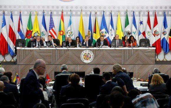 Asamblea 49 de OEA concluye con polémica por aceptación de embajador venezolano de Guaidó 27