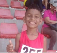 Un niño ganador de una carrera a la discapacidad, Samuel Millán Padilla 5