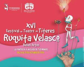 Festival de Títeres Ruquita Velasco Bellas Artes será virtual 5