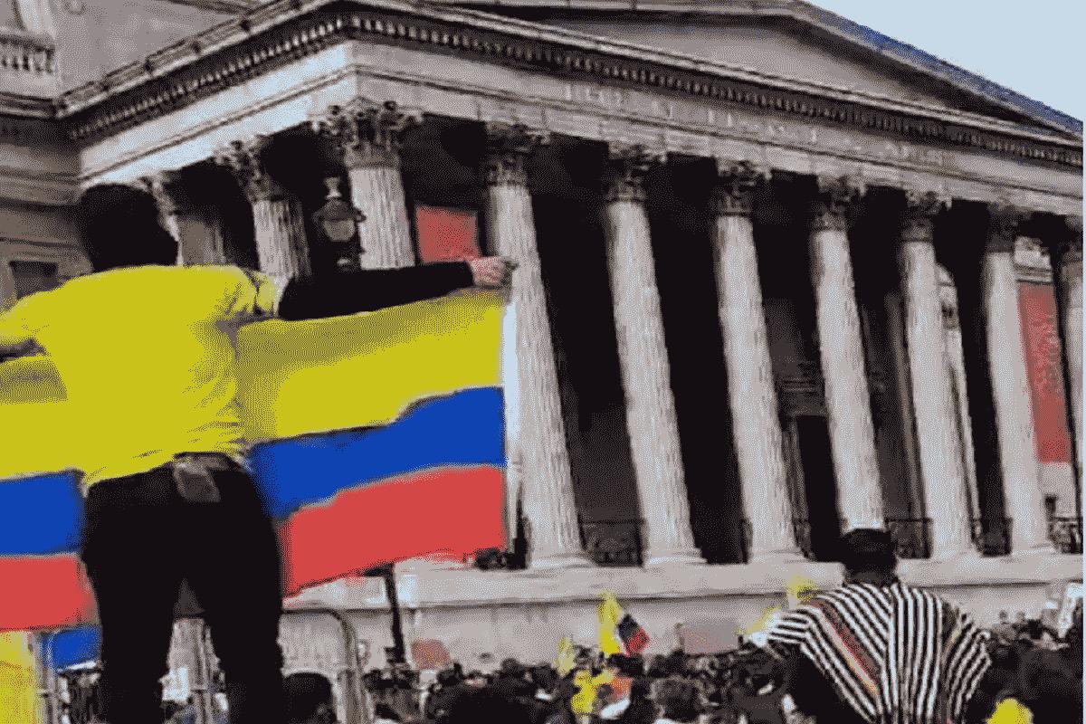 Colombia, pelea de tontos ganancia de vivos 2