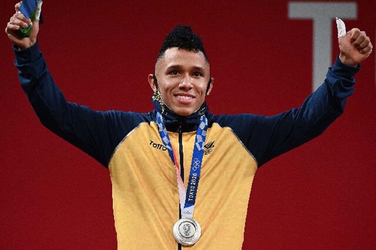 Vallecaucano Luis Javier Mosquera gana la primera de Plata para Colombia en Olímpicos de Tokio 2