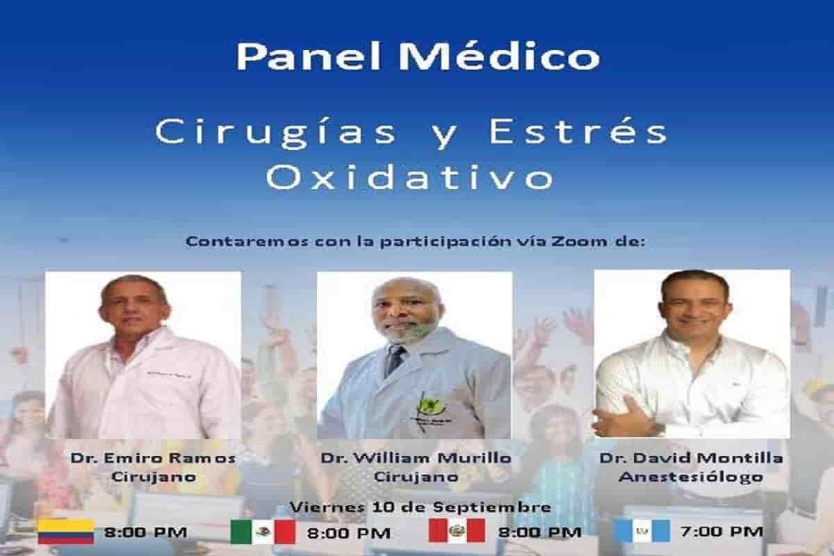 Cirugías y estrés oxidativo. Panel médico 33